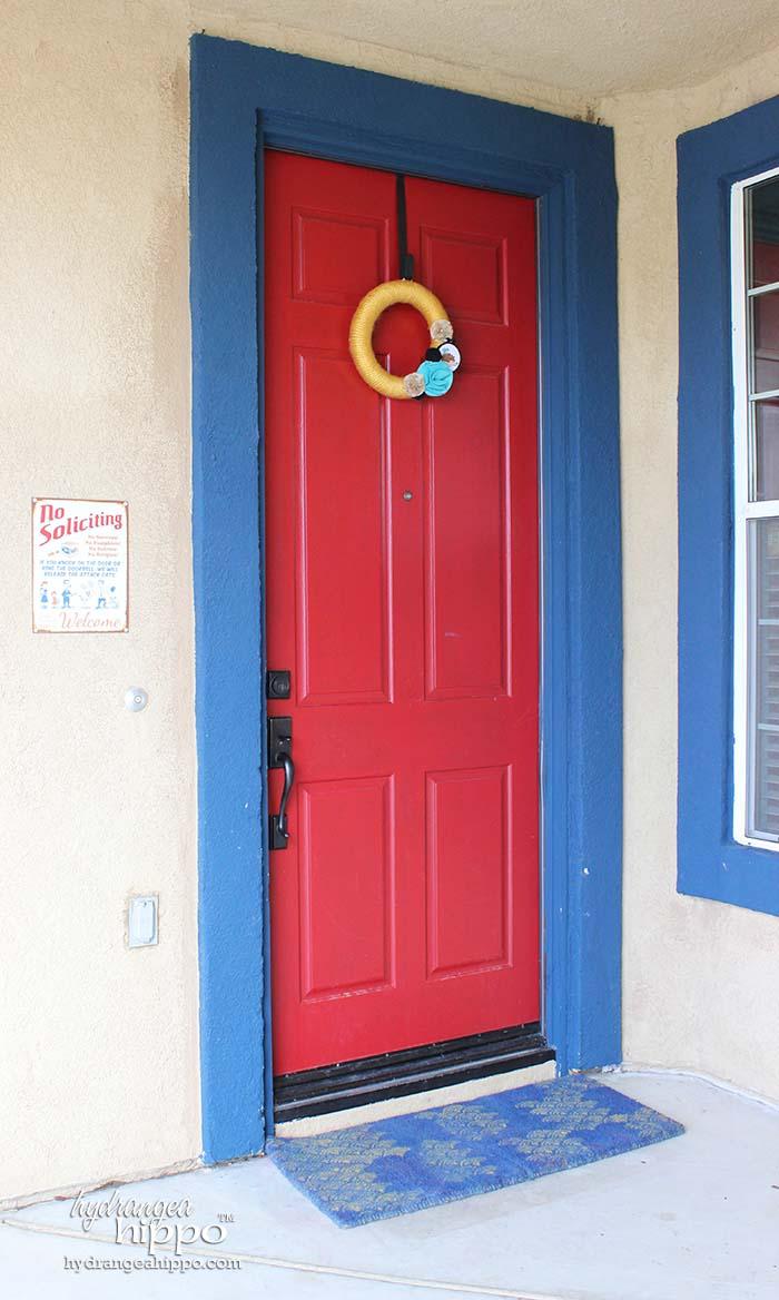Front Door Ideas For Spring Hydrangea Hippo By Jennifer