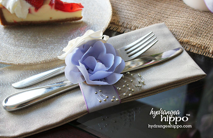 How to Make Napkin Rings - Great for Wedding - by Jennifer Priest