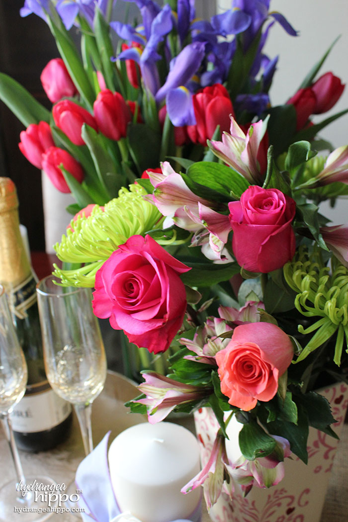 Set the Scene with gorgeous flowers from ProFlowers for a Romantic Dinner Date