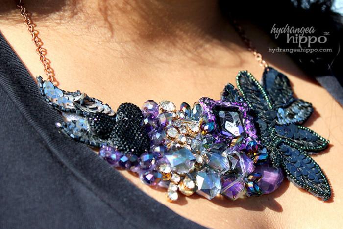 Maleficent Necklace Bib DIY JPriest