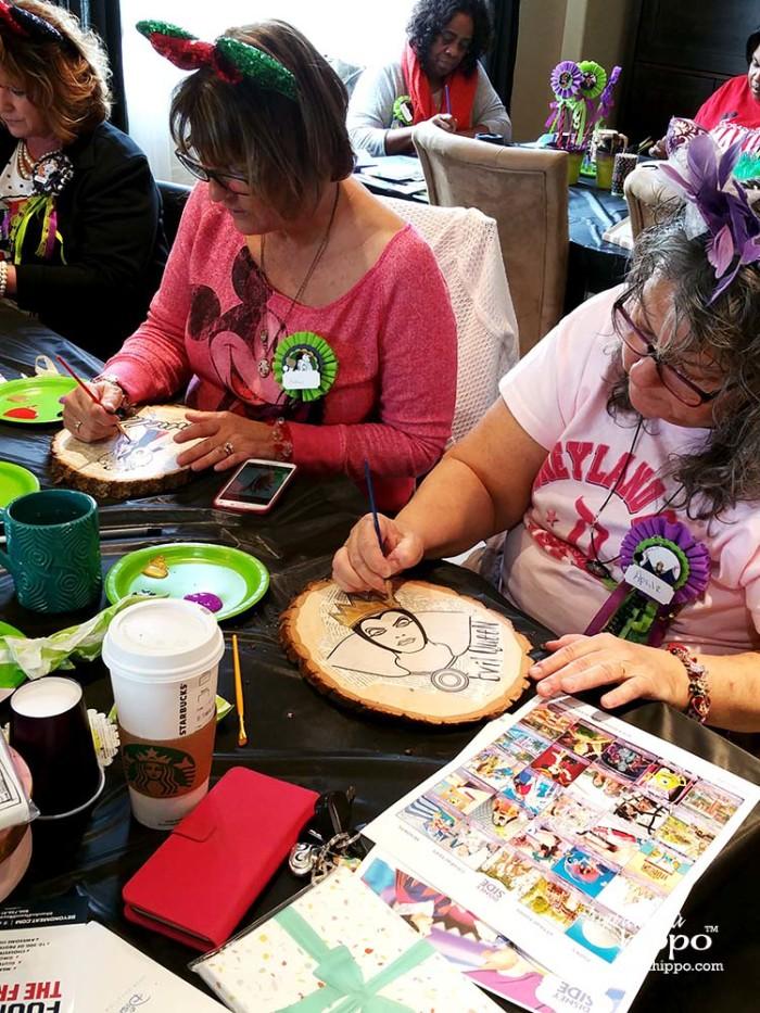 PARTY - DisneySide VIllains Tea Party JPriest - April