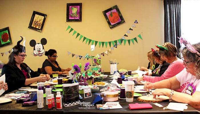 PARTY - DisneySide VIllains Tea Party JPriest - Room