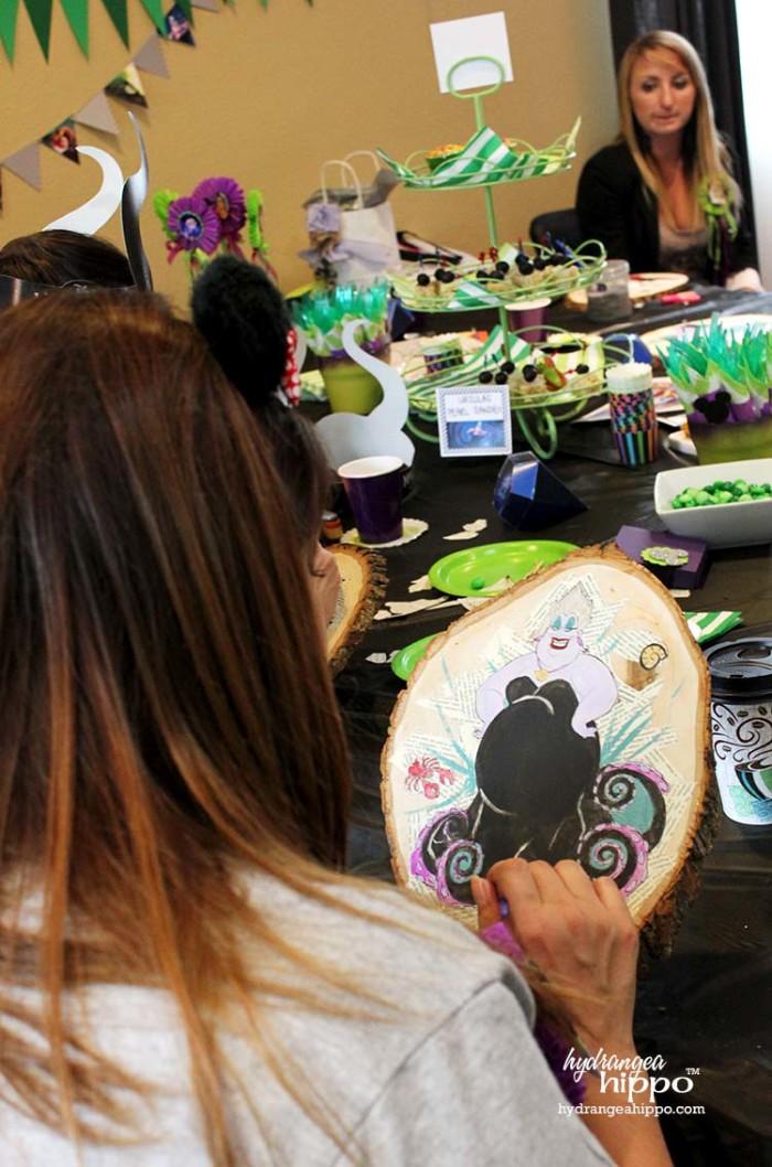 PARTY - DisneySide VIllains Tea Party JPriest - Ursula