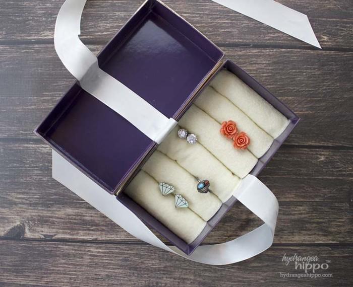 Recycled Phone Box Jewelry Case JPriest