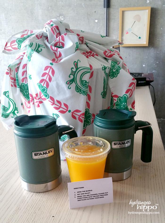 WeAllGrow Breakfast Room Service JPriest