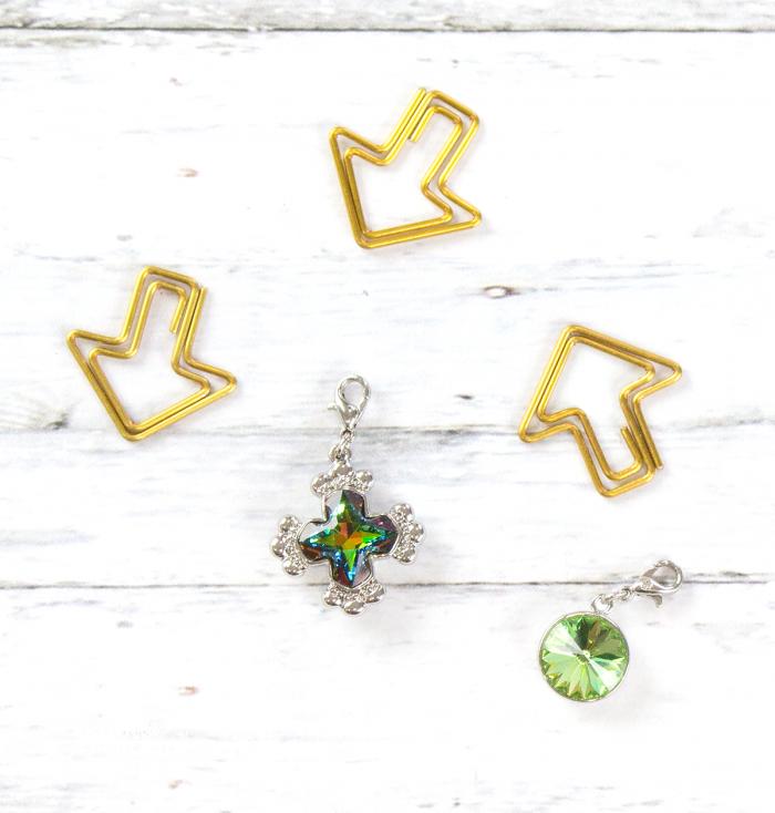 DIY-planner-clip-Swarovski-crystals-at-Michaels-hydrangeahippo