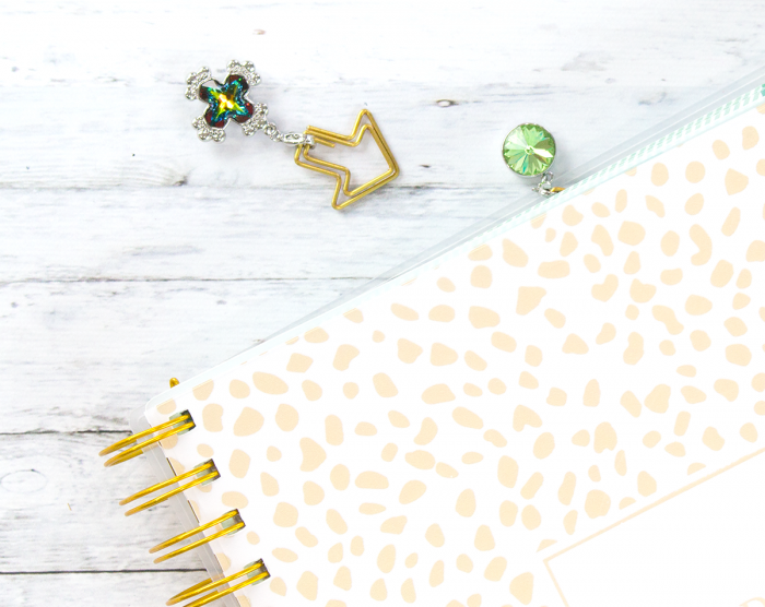 DIY-planner-clip-charms-with-Swarovski-crystals-at-Michaels-hydrangeahippo