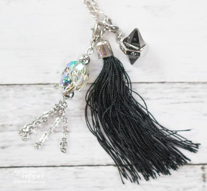 Teen-DIY-Necklace-Swarovski-crystals-at-Michaels-hydrangeahippo